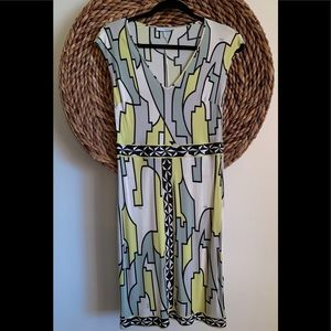 Emilio Pucci printed abstract dress